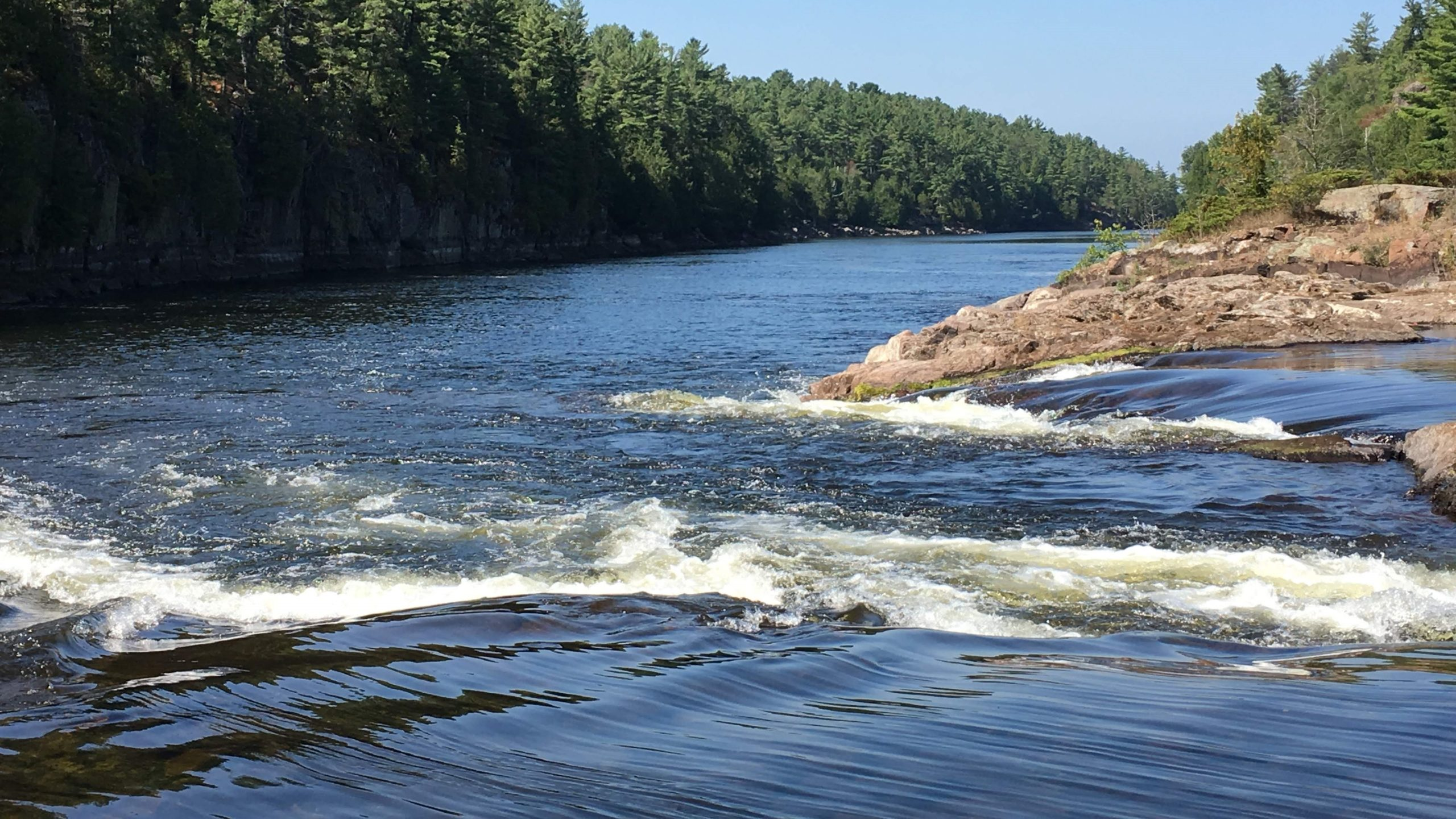 Recollet Falls at French River Provincial Park