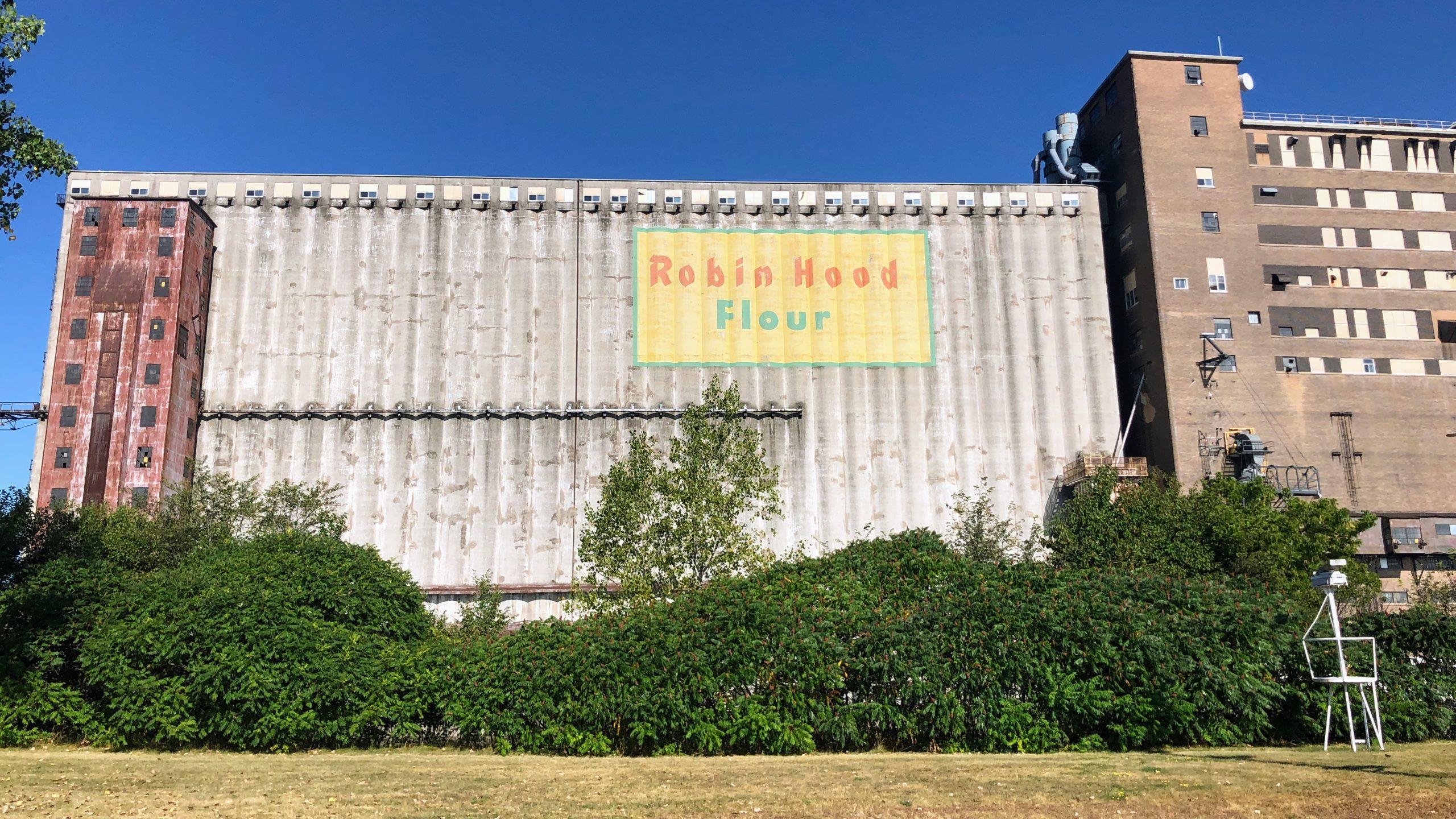 Robin Hood Flour in Port Colborne along the Welland Canal