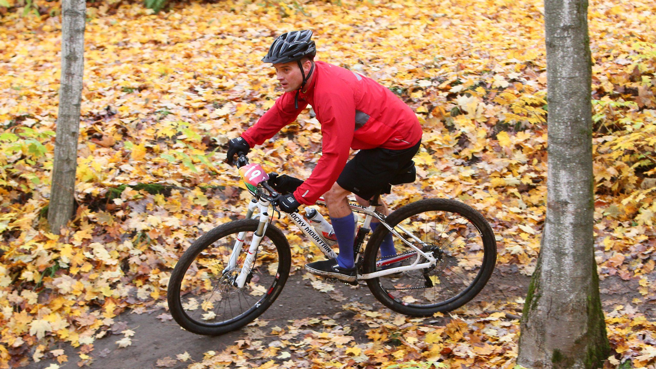 First mountain bike race, hardwood single track challenge in 2014