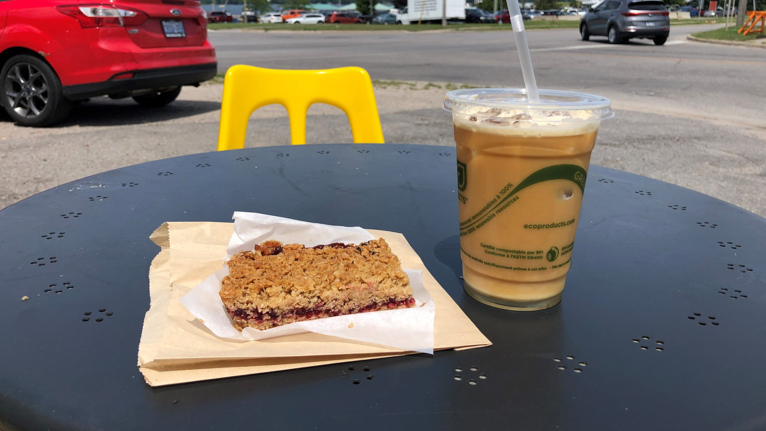 Simcoe County Loop Trail - Grounded Coffee Co. Midland, ON