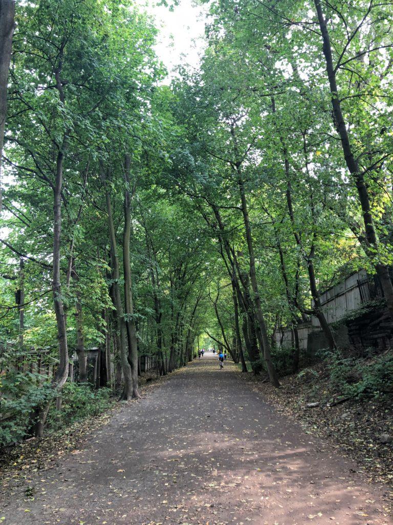 Entering the Beltline Trail