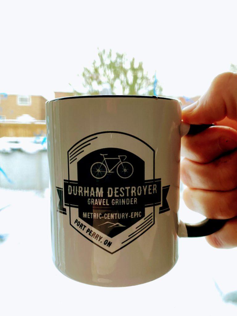Durham Destroyer I'm Not Worthy Mug